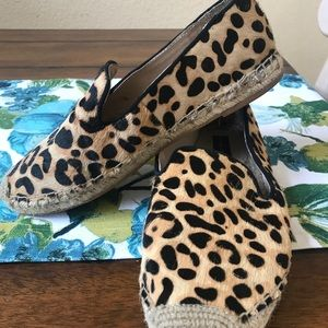 Steven By Steve Madden Shoes - Steven by Steve Madden leopard espadrille flats!